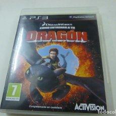 Videojuegos y Consolas: JUEGO PS3 COMO ENTRENAR A TU DRAGON - CON ISNTRUCCIONES - N. Lote 218779967