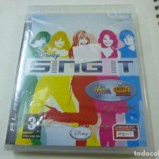 Videojuegos y Consolas: SING IT JUEGO PS3 -CON PRECINTADO - N. Lote 218781312