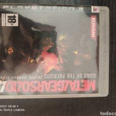 Videojuegos y Consolas: METAL GEAR SOLID 4. Lote 218782101