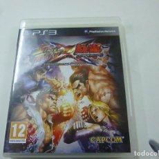 Videojuegos y Consolas: STREET FIGHTER X TEKKEN - PLAYSTATION 3 - CON INSTRUCCIONES - UK -N. Lote 218783033
