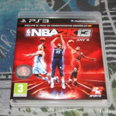 Videojuegos y Consolas: JUEGO PS3 - NBA2K13 - INCLUYE PACK COMENTARISTAS ESPAÑOLES - PLAYSTATION 3 - EDICIÓN ESPAÑOLA. Lote 54560448