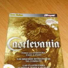 Videojuegos y Consolas: GUIA CASTLEVANIA LORDS OF SHADOW Y PES 2011 REVISTA MARCA PLAYER. Lote 220678258
