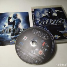 Jeux Vidéo et Consoles: THE CHRONICLES OF RIDDICK : ASSAULT ON DARK ATHENA ( PLAYSTATION 3 - PS3 - PAL - ESPAÑA ). Lote 220703395