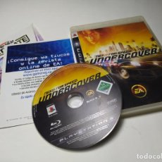 Videogiochi e Consoli: NEED FOR SPEED UNDERCOVER ( PLAYSTATION 3 - PS3 - PAL - ESPAÑA ). Lote 220899707