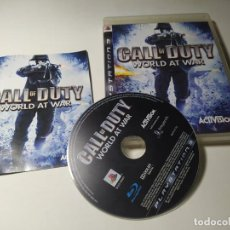 Videogiochi e Consoli: CALL OF DUTY - WORLD AT WAR ( PLAYSTATION 3 - PS3 - PAL - ESPAÑA ). Lote 220980110