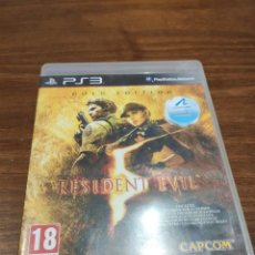 Videojuegos y Consolas: RESIDENT EVIL 5 GOLD EDITION - PS3 + MANUAL. Lote 221393688