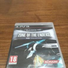 Videojuegos y Consolas: HIGH SPEED ROBOT ACTION ZONE OF THE ENDERS HD COLLECTION HIDEO KOJIMA - PS3 + MANUAL. Lote 221395007