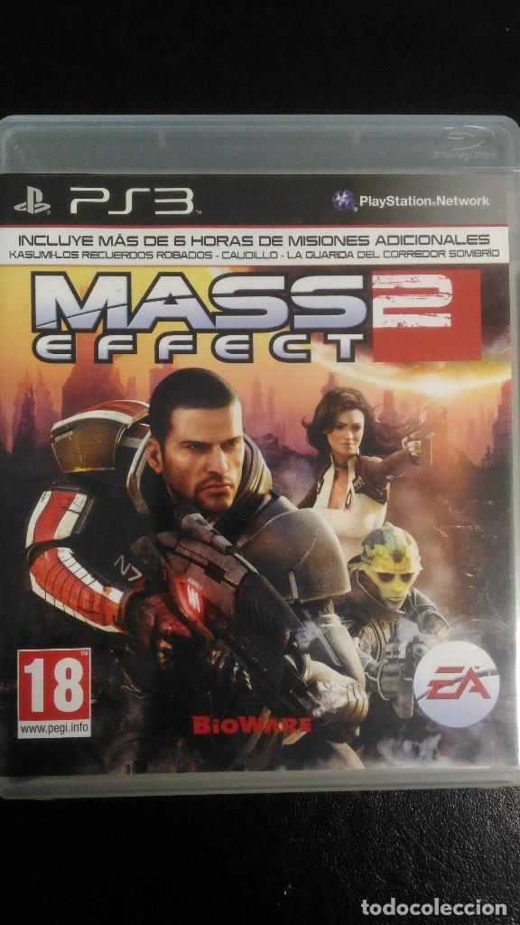 MASS EFFECT 2 Y MASS EFFECT 3 PS3 PLAYSTATION 3 PAL ESP (Juguetes - Videojuegos y Consolas - Sony - PS3)