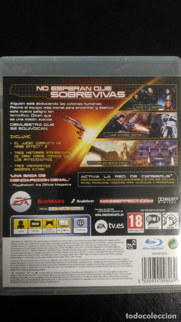 Videojuegos y Consolas: Mass Effect 2 y Mass Effect 3 PS3 Playstation 3 PAL ESP - Foto 2 - 221457568