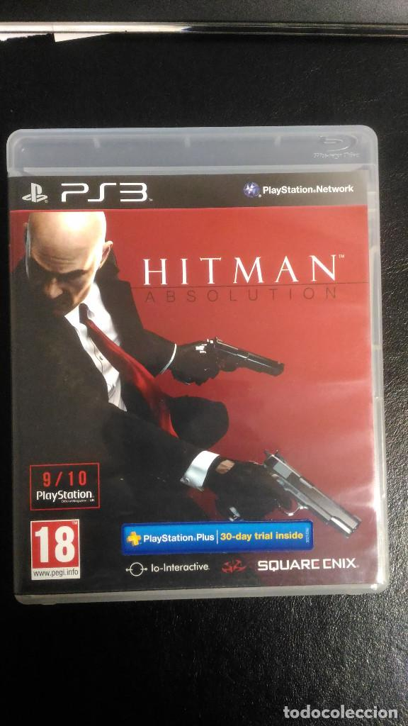 HITMAN ABSOLUTION PS3 PLAYSTATION 3 ESPAÑOL (Juguetes - Videojuegos y Consolas - Sony - PS3)