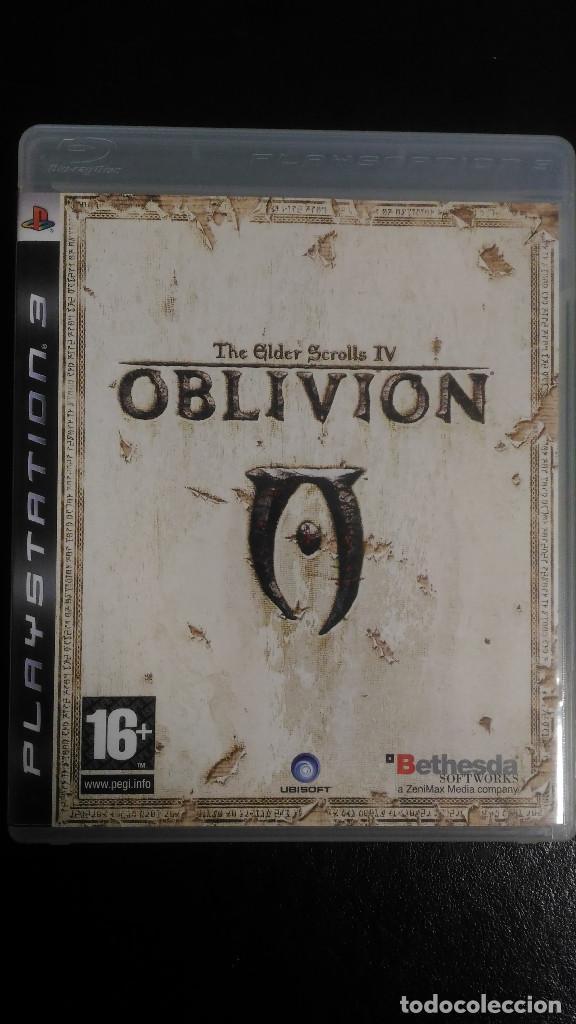 OBLIVION, THE ELDER SCROLLS IV CON MAPA, PS3 PLAYSTATION 3 PAL ESP (Juguetes - Videojuegos y Consolas - Sony - PS3)