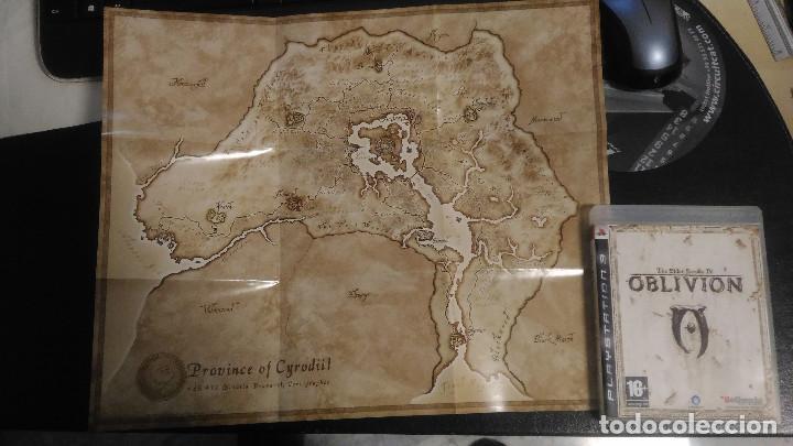 Videojuegos y Consolas: Oblivion, The Elder Scrolls IV con mapa, PS3 Playstation 3 PAL ESP - Foto 3 - 221459256