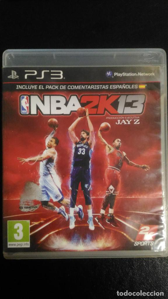 NBA2K13 PS3 PLAYSTATION 3 PAL ESP (Juguetes - Videojuegos y Consolas - Sony - PS3)