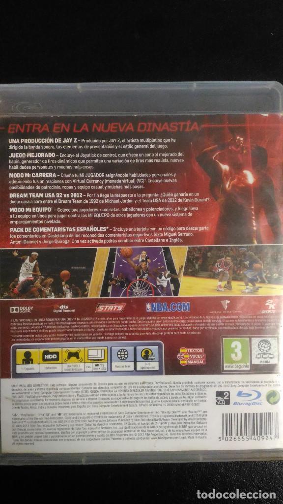 Videojuegos y Consolas: NBA2K13 PS3 Playstation 3 PAL ESP - Foto 2 - 221460392