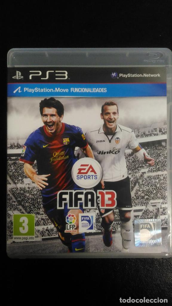 FIFA 13 EA SPORTS PS3 PLAYSTATION 3 PAL ESP (Juguetes - Videojuegos y Consolas - Sony - PS3)