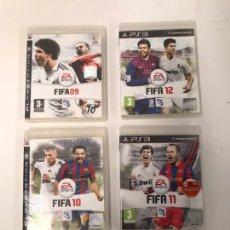 Videojuegos y Consolas: LOTE DE FIFA PS3. Lote 221597813