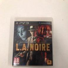 Videojuegos y Consolas: L.A NOIRE. Lote 221599501