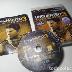 Jeux Vidéo et Consoles: UNCHARTED 3 ( E. GOTY) ( PLAYSTATION 3 - PS3 - PAL - ESPAÑA). Lote 221602625
