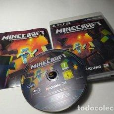 Videojuegos y Consolas: MINECRAFT : PLAYSTATION 3 EDITION ( PLAYSTATION 3 - PS3 - PAL - ESPAÑA). Lote 221602725