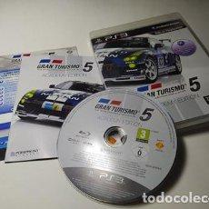 Videojuegos y Consolas: GRAN TURISMO 5 : ACADEMY EDITION ( PLAYSTATION 3 - PS3 - PAL - ESPAÑA). Lote 221602873