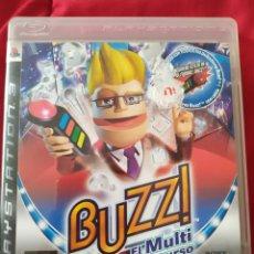 Videojuegos y Consolas: BUZZ EL MULTICONCURSO PS3. Lote 221651810