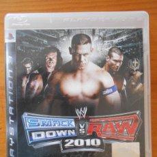 Videojuegos y Consolas: PS3 SMACKDOWN VS RAW 2010 - EN INGLES - COMPLETO - PLAYSTATION 3 (GU). Lote 221803202