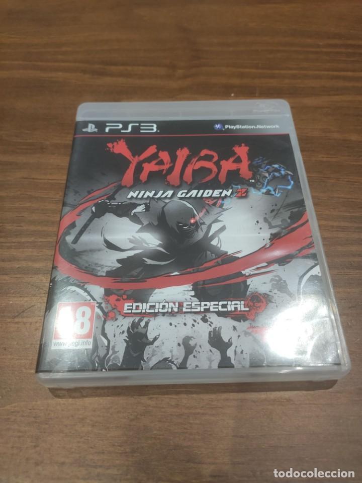 YAIBA NINJA GAIDEN Z - PS3 + MANUAL - MUY BUEN ESTADO (Juguetes - Videojuegos y Consolas - Sony - PS3)