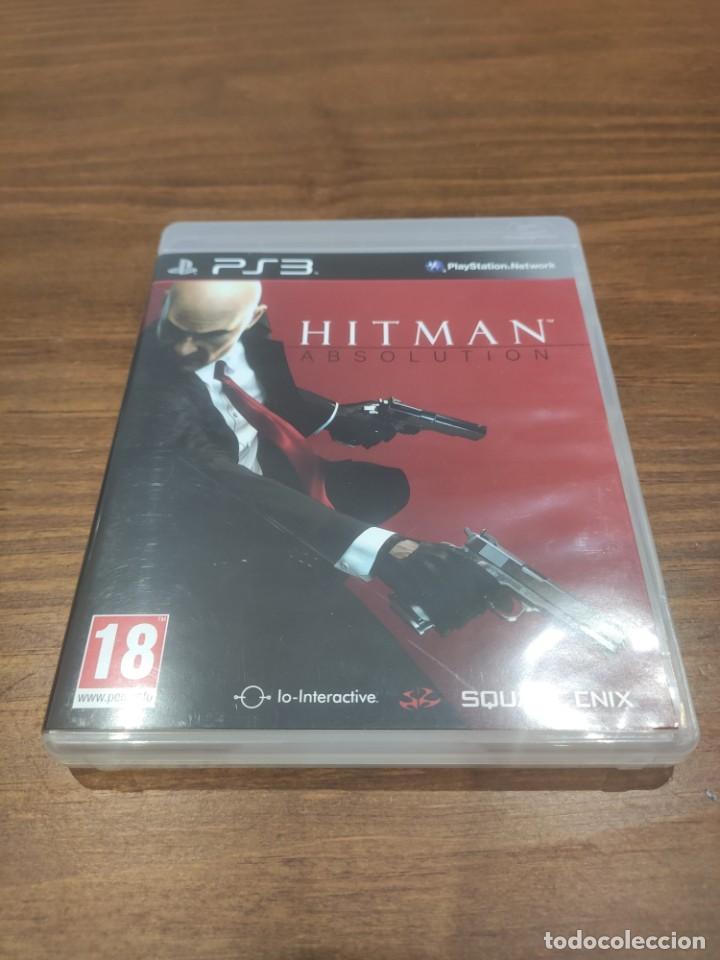 HITMAN ABSOLUTION - PS3 - MUY BUEN ESTADO (Juguetes - Videojuegos y Consolas - Sony - PS3)