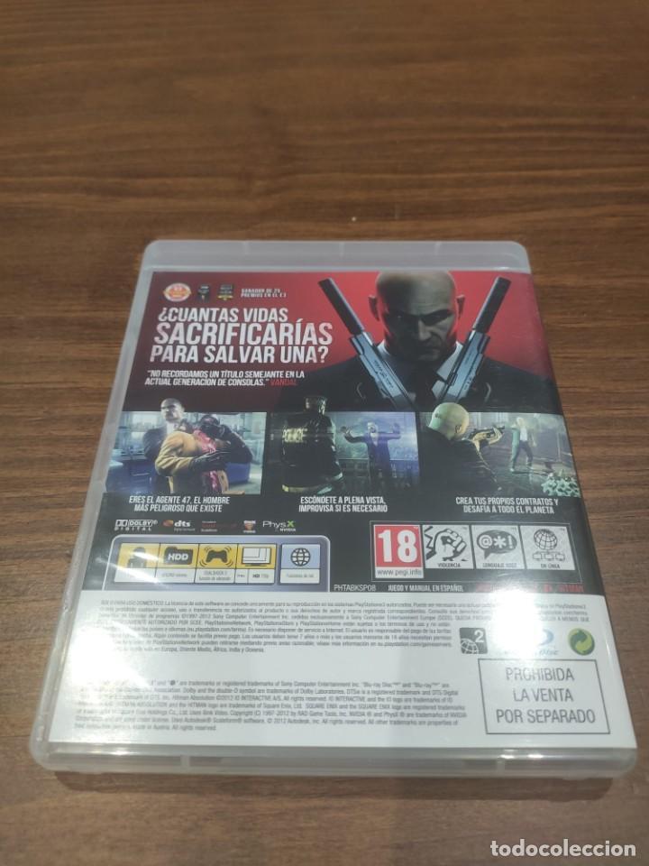 Videojuegos y Consolas: Hitman Absolution - PS3 - Muy buen estado - Foto 2 - 222142383