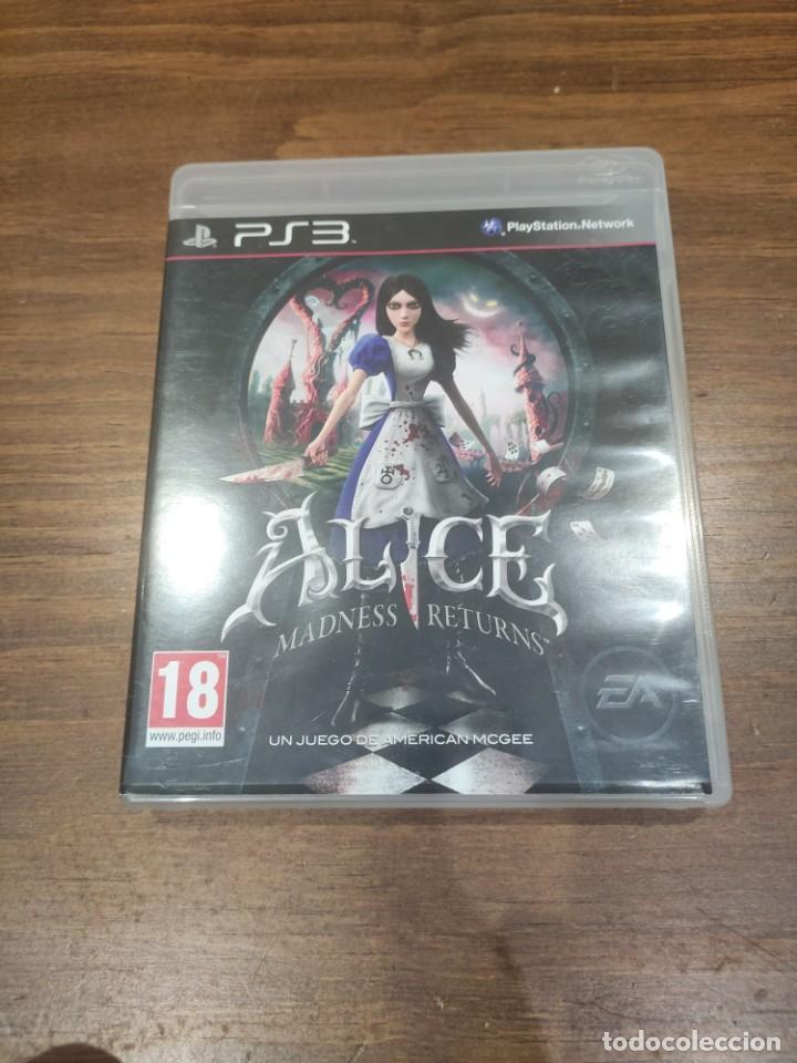 ALICE MADNESS RETURNS - PS3 - MUY BUEN ESTADO (Juguetes - Videojuegos y Consolas - Sony - PS3)