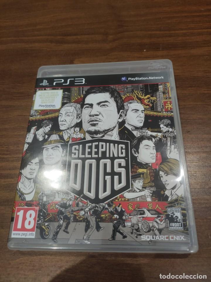 SLEEPING DOGS - PS3 - MUY BUEN ESTADO (Juguetes - Videojuegos y Consolas - Sony - PS3)
