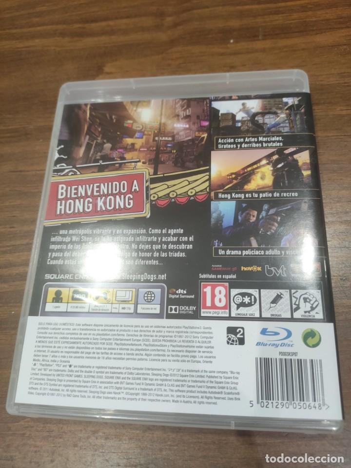 Videojuegos y Consolas: Sleeping Dogs - PS3 - Muy buen estado - Foto 2 - 222142646
