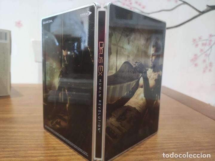 DAUS EX HUMAN REVOLUTION CAJA METALICA - PS3 - MUY BUEN ESTADO (Juguetes - Videojuegos y Consolas - Sony - PS3)