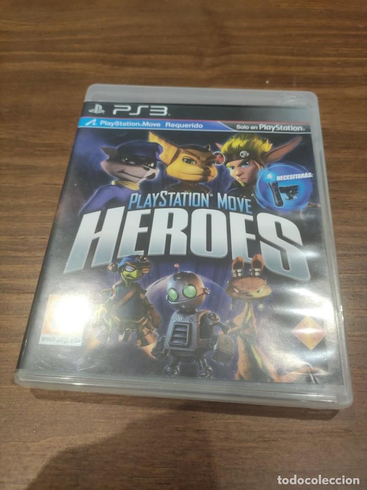PLAYSTATION MOVE HEROES - PS3 + MANUAL - MUY BUEN ESTADO (Juguetes - Videojuegos y Consolas - Sony - PS3)