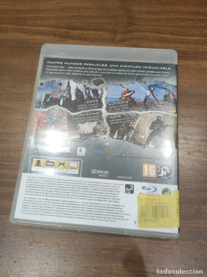 Videojuegos y Consolas: Spider-Man Dimensions - PS3 - Foto 2 - 222197202