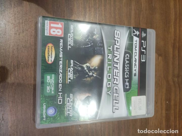 TOM CLANCYSS SPLINTER CELL TRILOGY + MANUAL - PS3 (Juguetes - Videojuegos y Consolas - Sony - PS3)