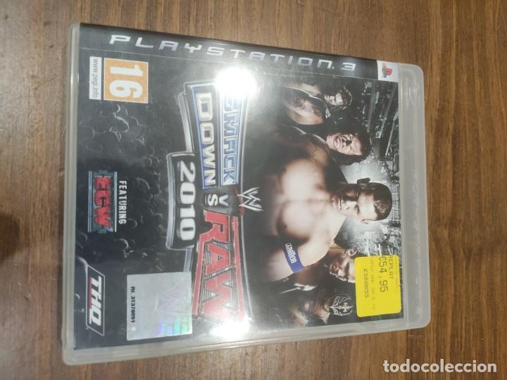 SMACKDOWN VS RAW 2010 - PS3 (Juguetes - Videojuegos y Consolas - Sony - PS3)