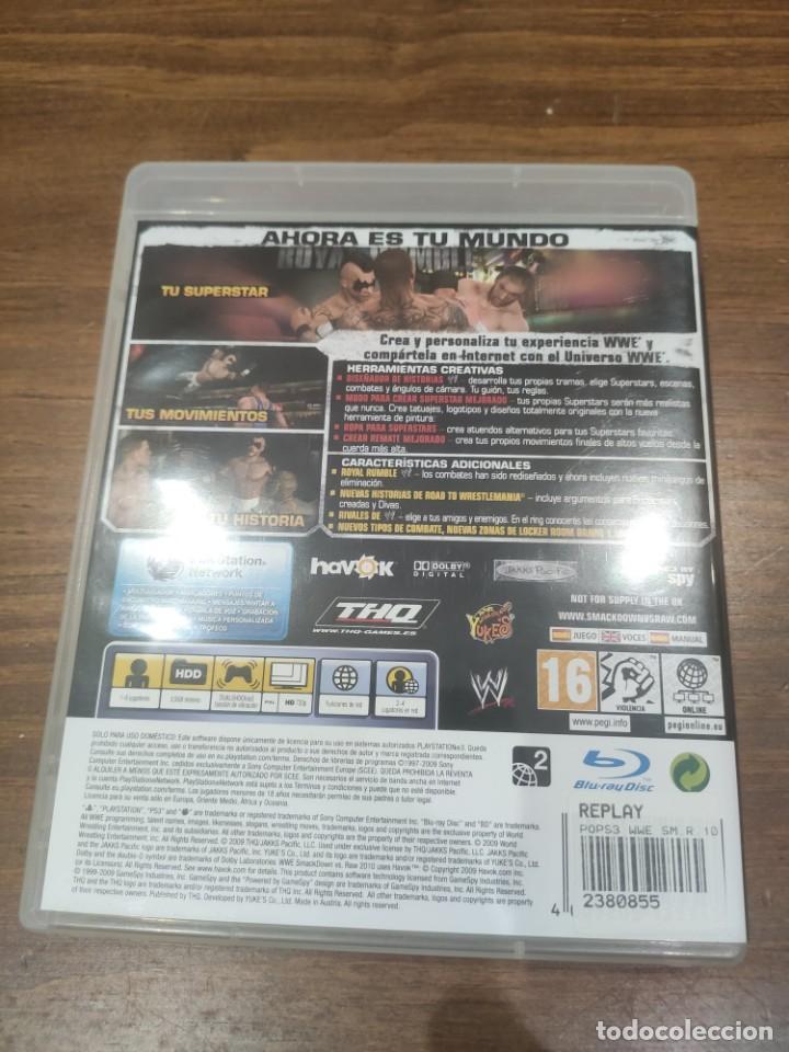 Videojuegos y Consolas: Smackdown VS RAW 2010 - PS3 - Foto 2 - 222197690