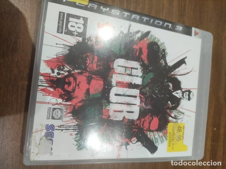 THE CLUB + MANUAL - PS3 (Juguetes - Videojuegos y Consolas - Sony - PS3)