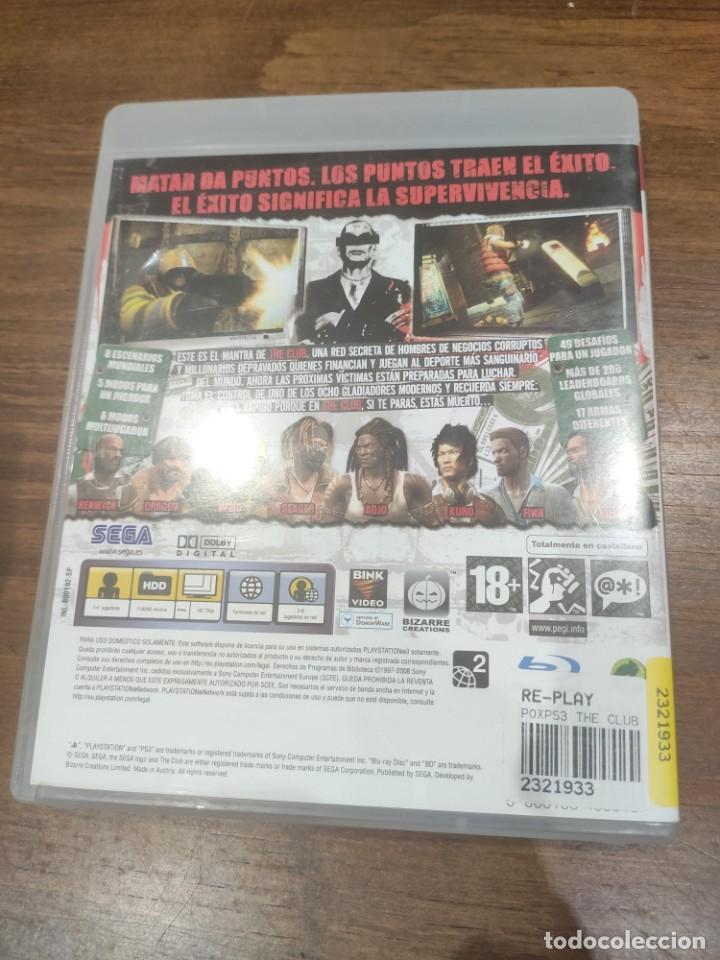 Videojuegos y Consolas: The Club + Manual - PS3 - Foto 2 - 222197976