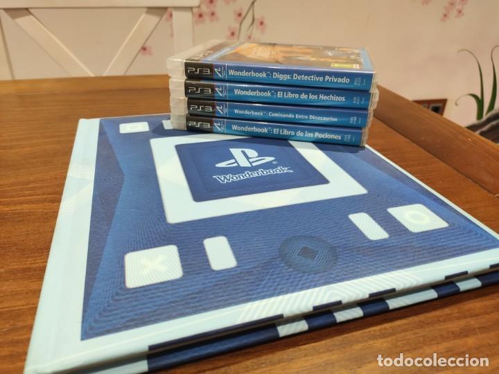 LIBRO WONDERBOOK Y 4 JUEGOS + MANUALES - PS3 - MUY BUEN ESTADO (Juguetes - Videojuegos y Consolas - Sony - PS3)