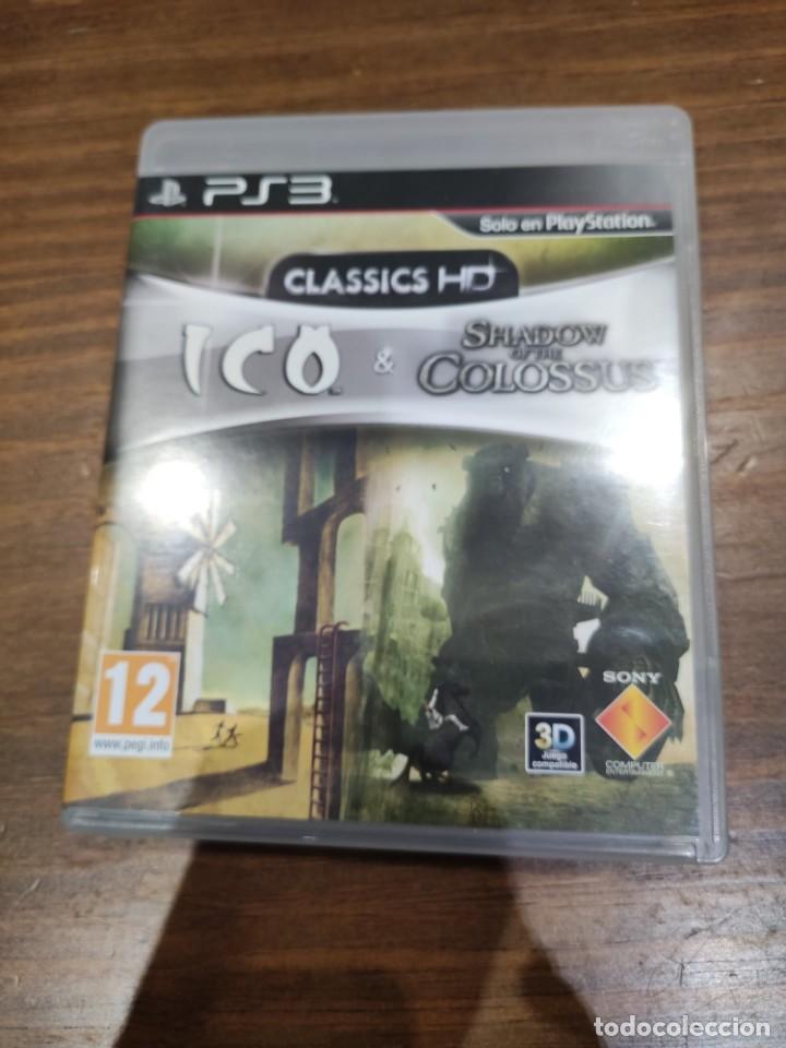 ICO & SHADOW OF THE COLOSSUS + MANUAL - PS3 - MUY BUEN ESTADO (Juguetes - Videojuegos y Consolas - Sony - PS3)