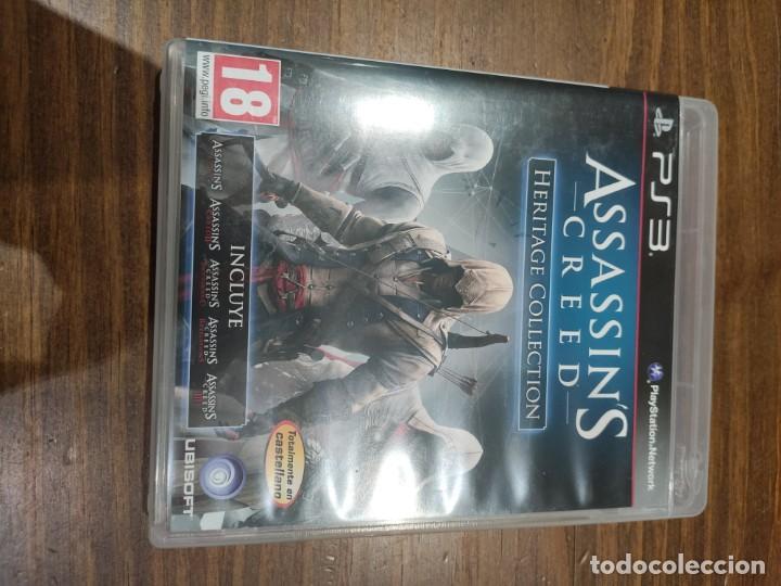 ASSASSINS CREED HERITAGE COLLECTION + MANUAL - PS3 - MUY BUEN ESTADO (LEER DESCRIPCION) (Juguetes - Videojuegos y Consolas - Sony - PS3)