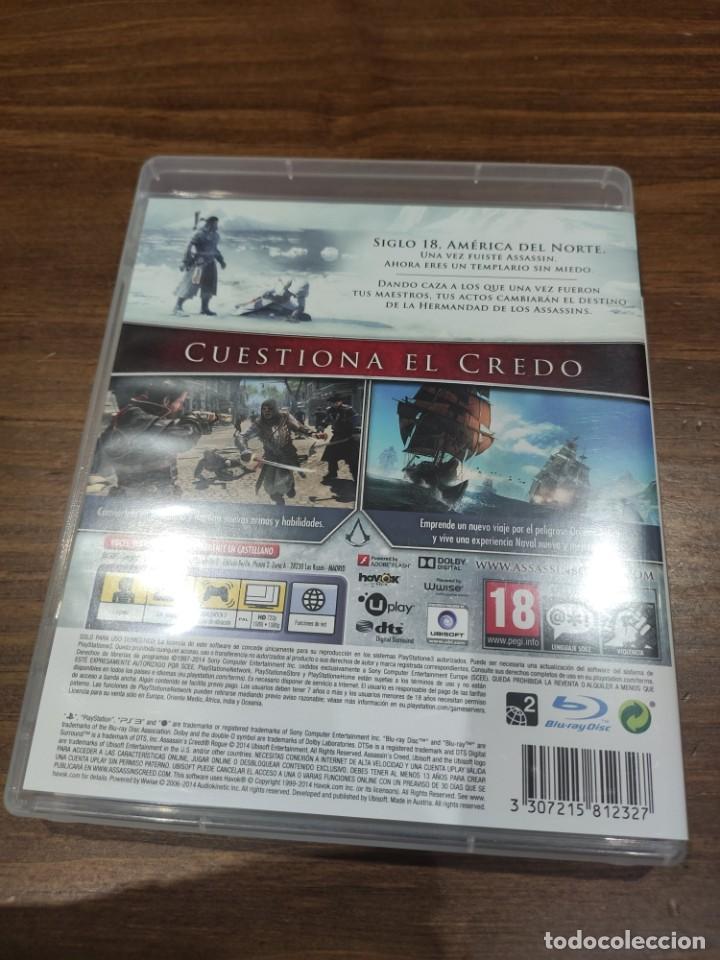 Videojuegos y Consolas: Assassins Creed Rogue + Manual - PS3 - Muy buen estado (LEER DESCRIPCION) - Foto 2 - 222300731