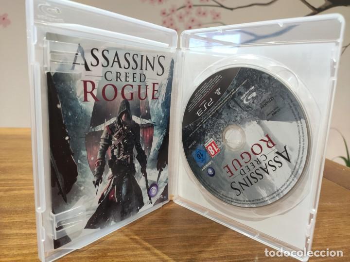 Videojuegos y Consolas: Assassins Creed Rogue + Manual - PS3 - Muy buen estado (LEER DESCRIPCION) - Foto 3 - 222300731