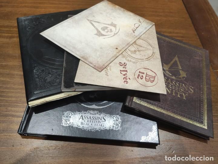 ASSASSINS CREED LIBROS DE ARTE, POSTALES, CARTAS, MAPAS - MUY BUEN ESTADO (LEER DESCRIPCION) (Juguetes - Videojuegos y Consolas - Sony - PS3)