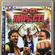 Videojuegos y Consolas: TNA IMPACT TOTAL NONSTOP ACTION WRESTLING - PLAYSTATION 3. Lote 222313235