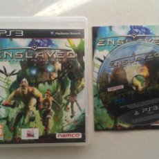 Videojuegos y Consolas: ENSLAVED ODYSSEY TO THE WEST PS3 PLAYSTATION 3 PLAY STATION KREATEN. Lote 222596970