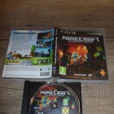 Videojuegos y Consolas: PS3 MINECRAFT PAL ESP SIN MANUAL. Lote 222686380