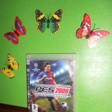 Videojuegos y Consolas: PES 2009 PRO EVOLUTION SOCCER - PLAYSTATION 3. Lote 222688801